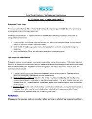 Safe Work Practices / Procedures / Instruction ... - Sonic Drilling Ltd.