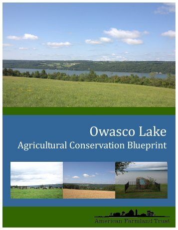 Owasco Lake Agricultural Conservation Blueprint - American ...