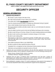 securityofficerapplication - El Paso County