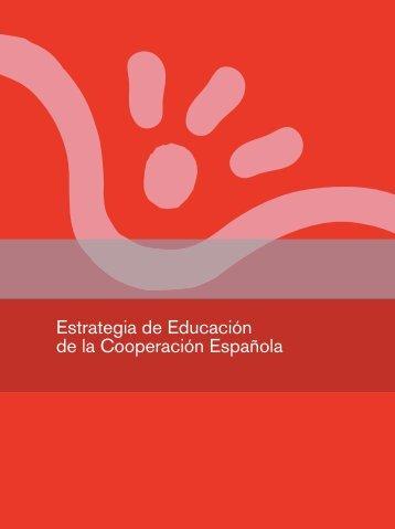 Estrategia de Educación - Ministerio de Asuntos Exteriores y de ...