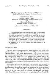 R. R ρDMAN (i.e. - Terrestrial, Atmospheric and Oceanic Sciences