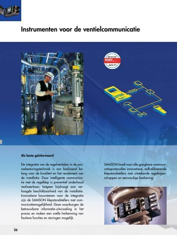 Instrumenten voor de ventielcommunicatie - Samson Regeltechniek