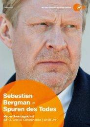 Sebastian Bergman - Spuren des TodesPDF ... - ZDF Presseportal