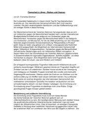 Lesen Sie hier, welche Risiken und Chancen die - Franziska Brantner