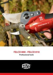 Download .pdf in English - Felco