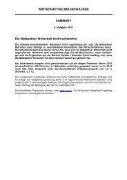 Wibaro 2.HJ.2011.pdf - Pro Wirtschaft Nidwalden/Engelberg