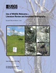 Use of Wildlife Webcams— Literature Review and Annotated - USGS