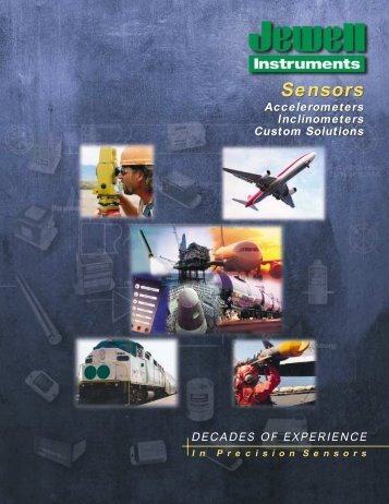 Sensors Catalog - Jewell Instruments