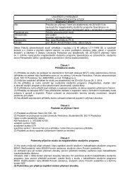 Pravidla pro přijímací řízení pro akademický rok 2013/2014 do ...