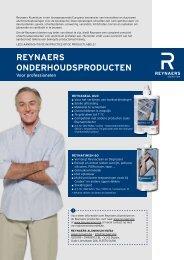 reynaers onderhoudsproducten - VERMAT ramen & zonwering