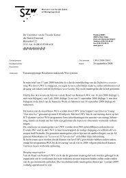 Brief aan de Tweede Kamer - Tussenrapportage ... - Inspectie SZW