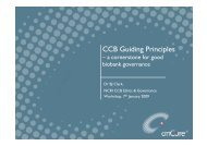 CCB Guiding Principles - National Cancer Research Institute