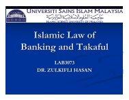 Regulation on Islamic Finance