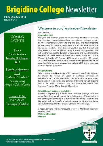 documents SJG Newsletter Issue.