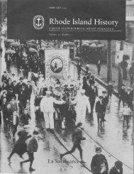 Untitled - Rhode Island Historical Society