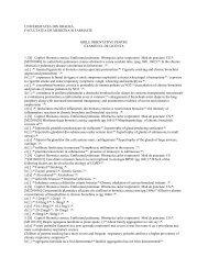 Grile orientative pentru examenul de licenta - Facultatea de ...