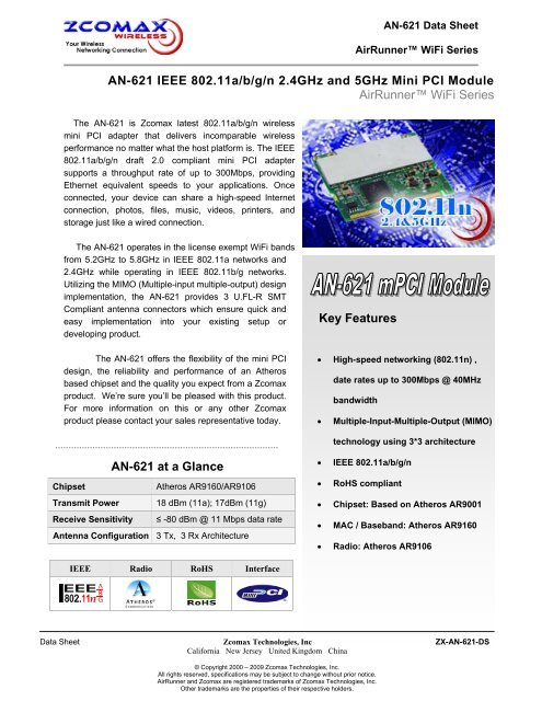 NEW DRIVER: ATHEROS AR9001
