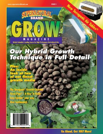 Our Hybrid Growth Technique in Full Detail Our ... - Planet Natural
