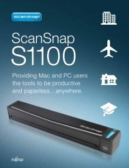 ScanSnap - ImageSource, Inc.