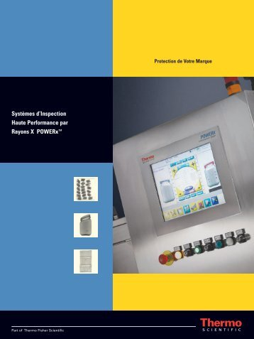 Systèmes d'Inspection Haute Performance par ... - Thermo Scientific