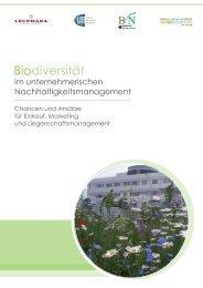 Biodiversität im unternehmerischen Nachhaltigkeitsmanagement