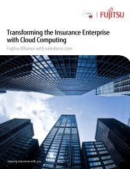 Transforming the Insurance Enterprise with Cloud Computing - Fujitsu