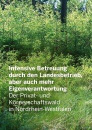 Der Privat - Wald und Holz NRW