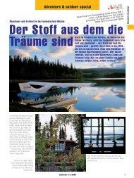 Abenteuer und Freiheit in der kanadischen Wildnis - Frances Lake ...