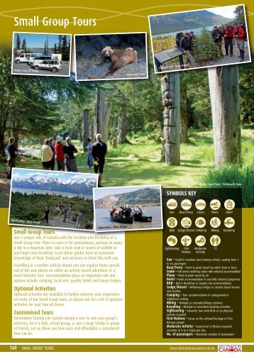 Small Group Tours - Destination Canada