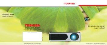 Die Welt mit anderen Augen sehen! - Toshiba