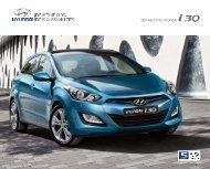 Ny i30 brosjyre - Hyundai