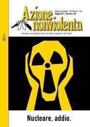Maggio 2011 - Movimento Nonviolento