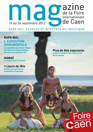 14 au 24 septembre 2012 - Caen Event