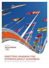 Idrettens håndbok for Internasjonalt samarbeId - Norges idrettsforbund