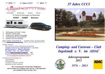 37 Jahre CCCI Camping - Campingclub Ingolstadt im ADAC