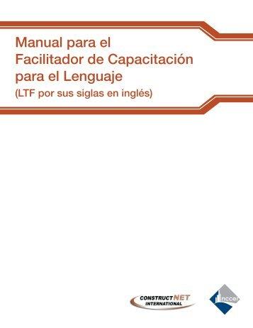 Manual para el Facilitador de Capacitación para el ... - NCCER