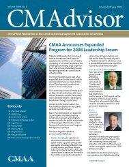 January/February - CMAA