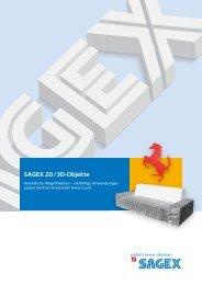 SAGEX 3D-Objekte - Sager AG