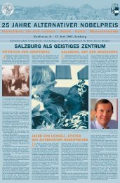 Zum Programm (PDF) - Leopold Kohr Akademie