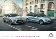 CITROËN C4 PICASSO - GRAND C4 PICASSO - Groupe Dallard