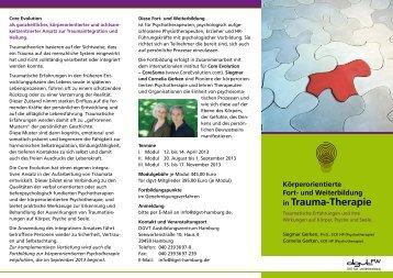 in Trauma-Therapie - Core Evolution® - CoreSoma