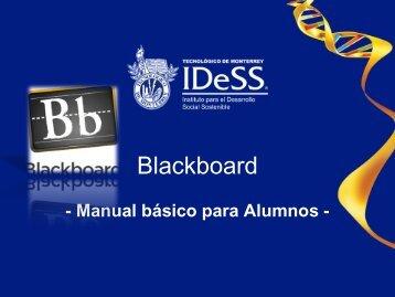 Manual para Alumnos - Tecnológico de Monterrey