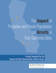 The Impact of Probation and Parole - Pennsylvania Mental Health ...