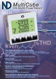 ND MultiCube brochure - Meter Manager