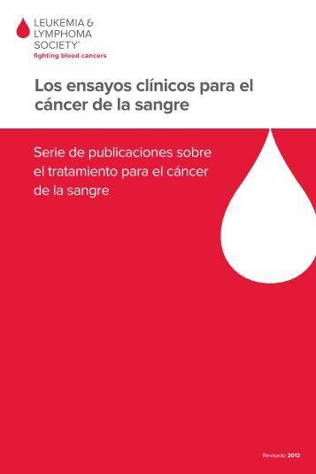 Los ensayos clínicos para el cáncer de la sangre