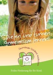 Frühe Förderung für Ihr Kind. - Frühe Hilfen Bonn