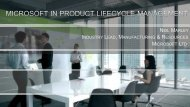 Microsoft a Platform for the Future- Supporting ... - PDT Europe 2013