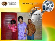 """TCL Group Media Party 2007 """"REWIND"""""""