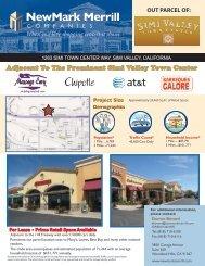 Simi Valley Site Plan copy - NewMark Merrill Companies