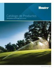 Catálogo de produCtos - Hunter Industries